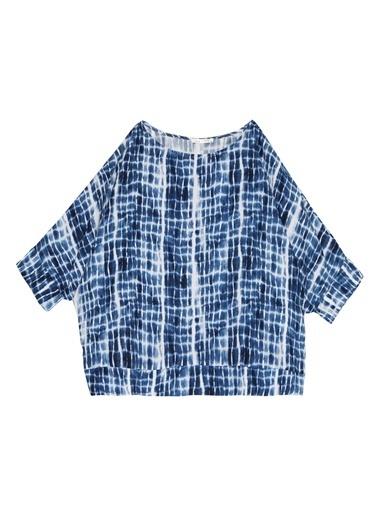 Selen Bluz Mavi